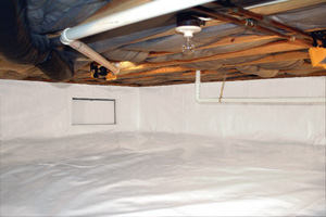Crawl Space Repair After in Fort Worth