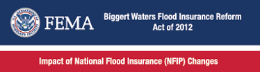 FEMA Biggert Waters Flood Insurance Reform Act of 2012