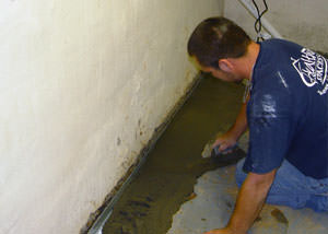 Restoring a concrete slab floor in Greater Dallas Fort Worth.