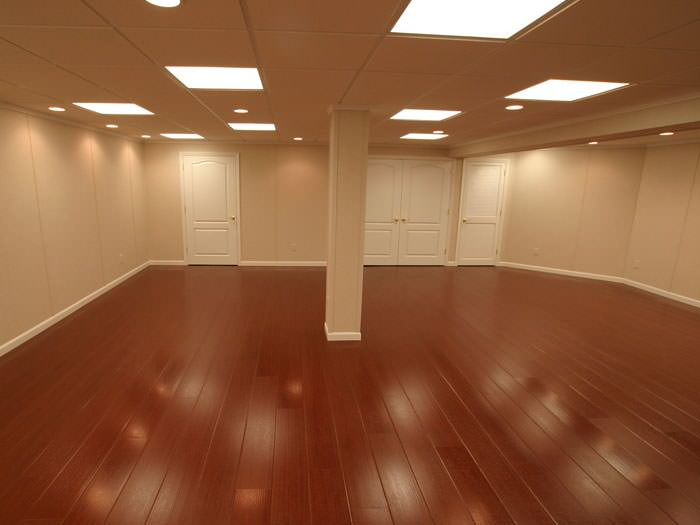 Wood Basement Flooring Millcreek, What Is The Best Type Of Flooring For A Basement